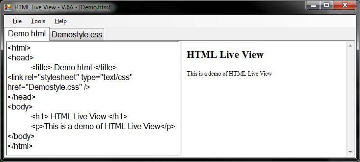 [تصویر:  HTMLLiveView.png]